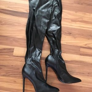Shoes - Thigh high boots 8 1/2